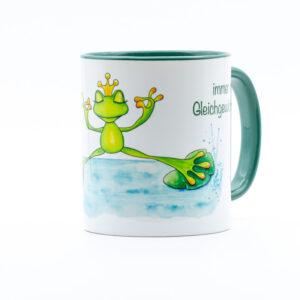 Tasse Froschkönig