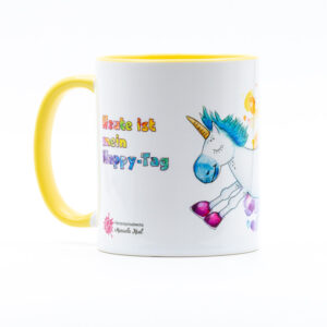 Tasse Happy Einhorn