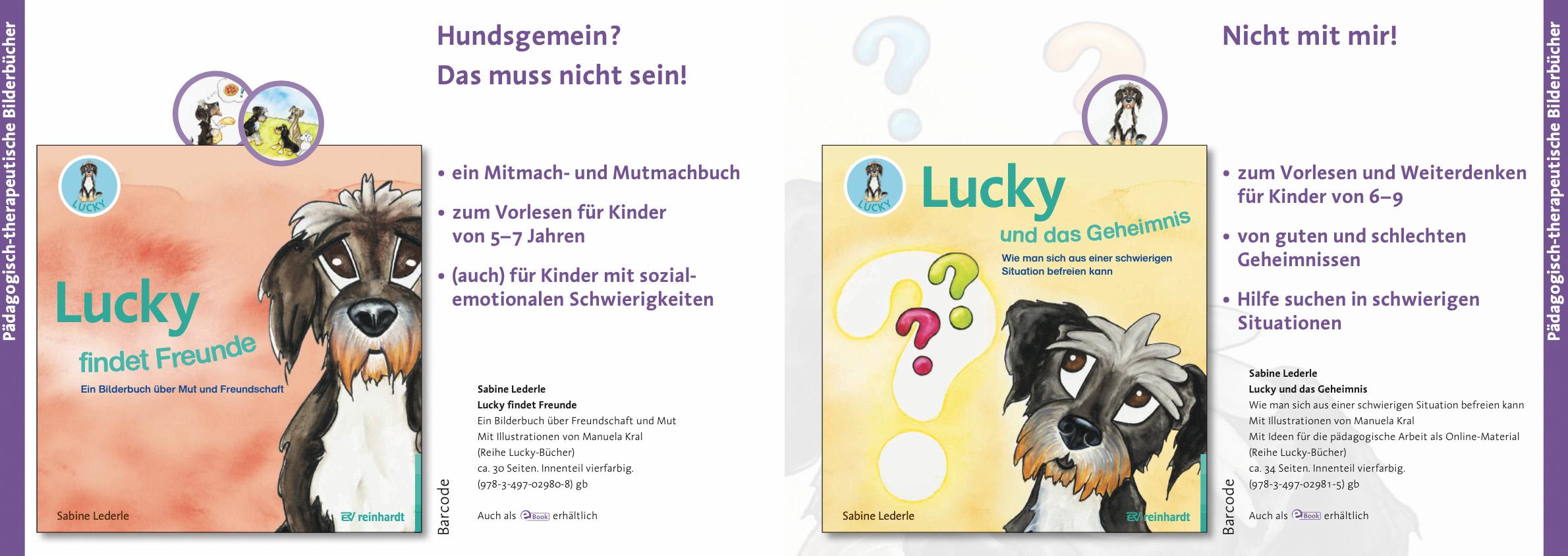 Ankündigung Lucky Bücher