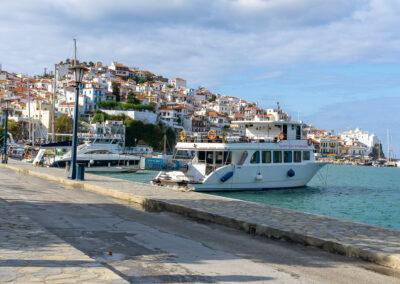 Skopelos Hafen