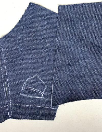 Jeans Zuschnitt